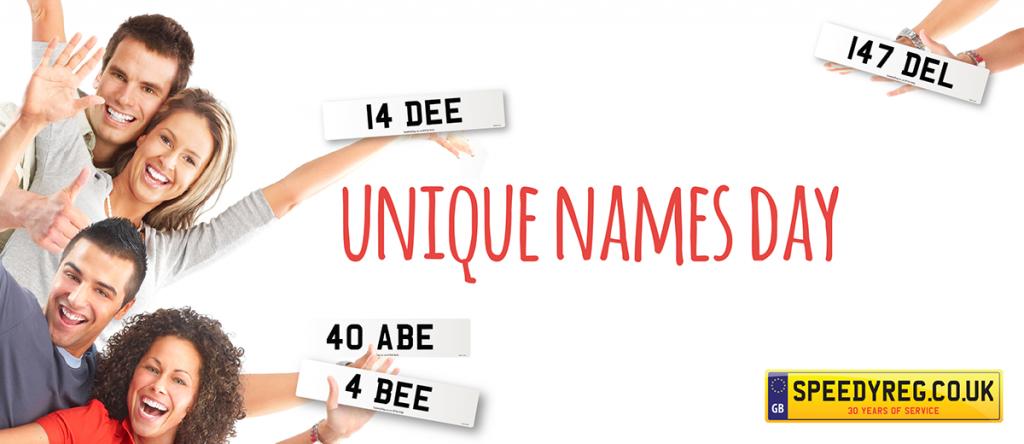 Unique Names Number Plates - Speedy Reg