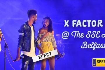 X Factor Live - Speedy Reg