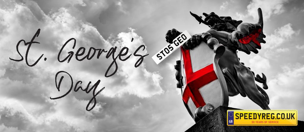 St George's Day - Speedy Reg