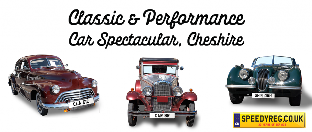 Classic Car Spectacular - Speedy Reg