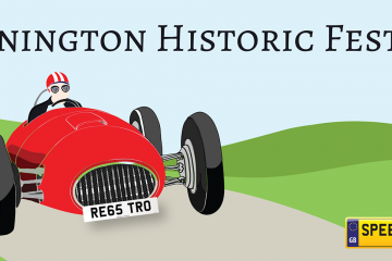 Donnington Historic Festival - Speedy Reg