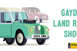 Gaydon Land Rover Show- Speedy Reg