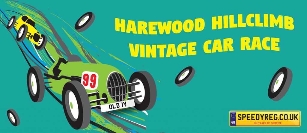 Harewood Hillclimb Vintage Car Race - Speedy Reg