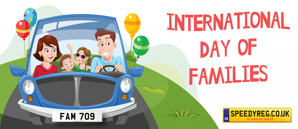 International Day of Families - Speedy Reg