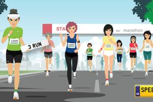 London Marathon- Speedyreg