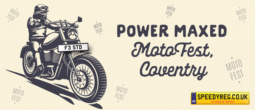 Power Maxed Moto Fest - Speedy Reg