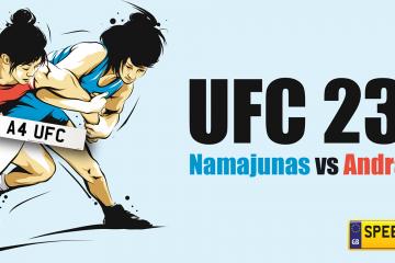UFC 237- Speedy Reg