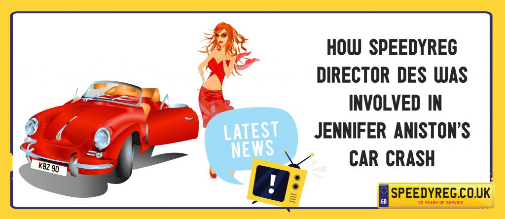 Jennifer Aniston's Car Crash - Speedyreg