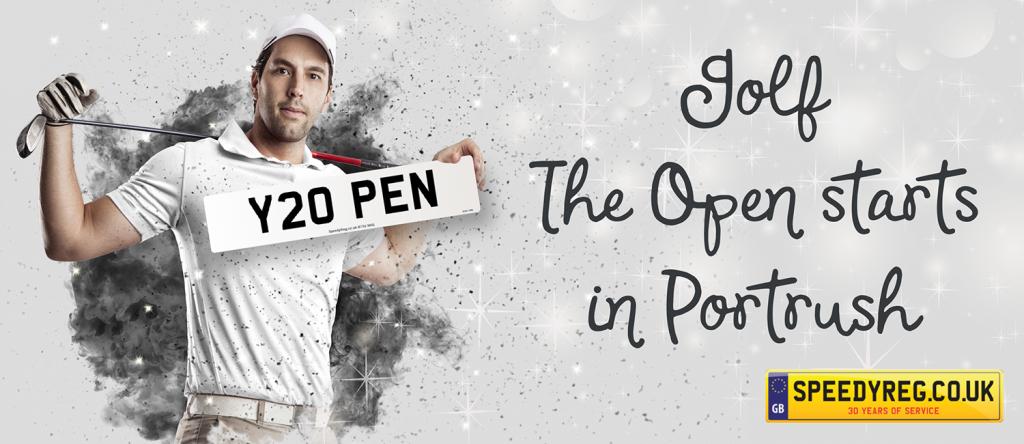 The Open starts in Portrush - Speedy Reg