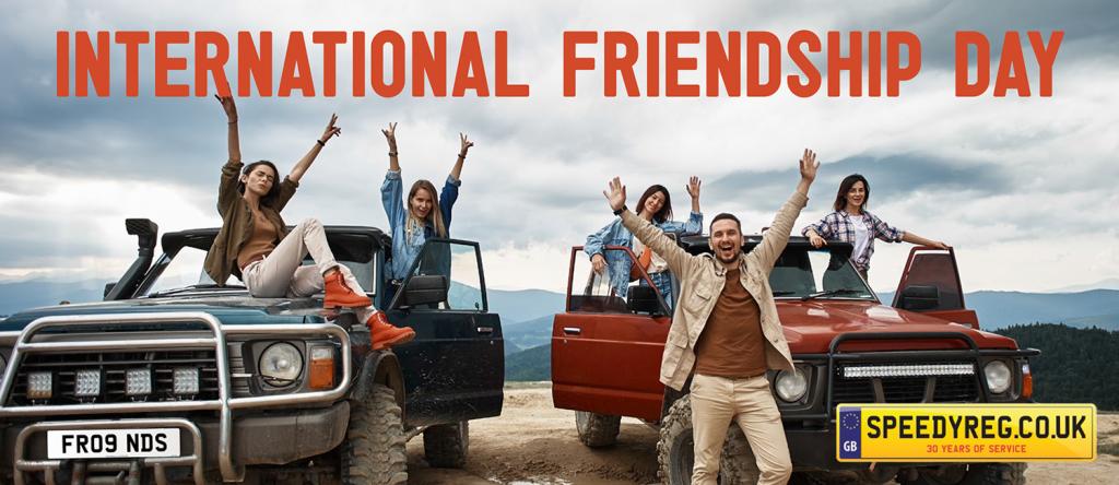 International Friendship Day - Speedy Reg