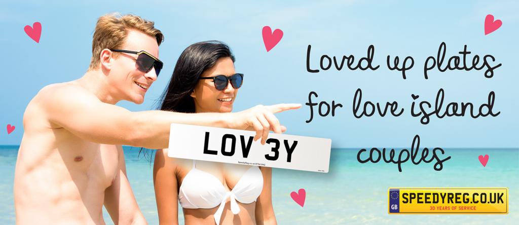 Love Island Numberplates - Speedyreg