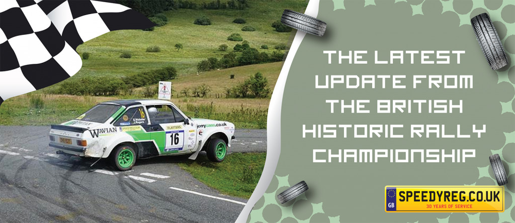 British Historic Rally Championship - Speedy Reg