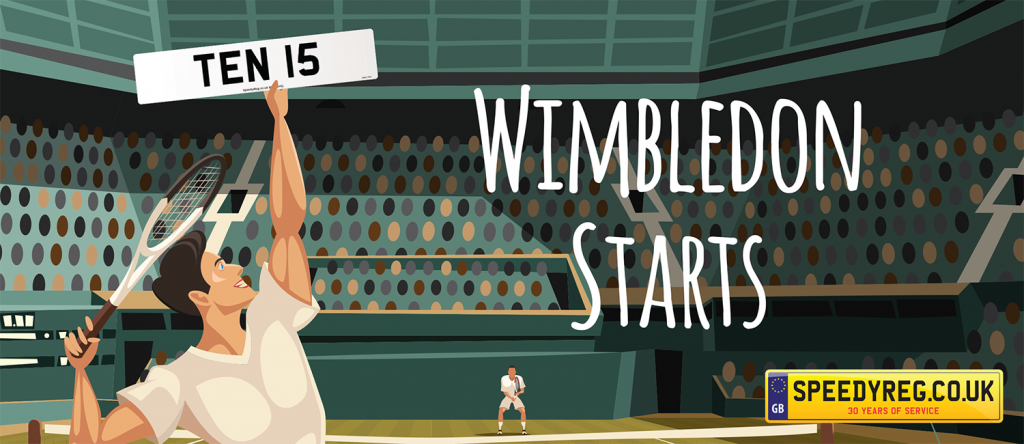 Wimbledon has arrived -- Speedyreg