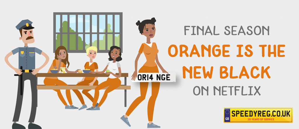 Orange is the new black - Speedy Reg