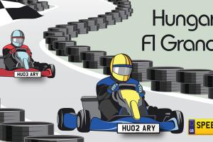 Hungarian F1 Grand Prix - Speedy Reg