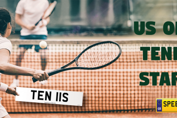 US Open Tennis Begins - Speedy Reg