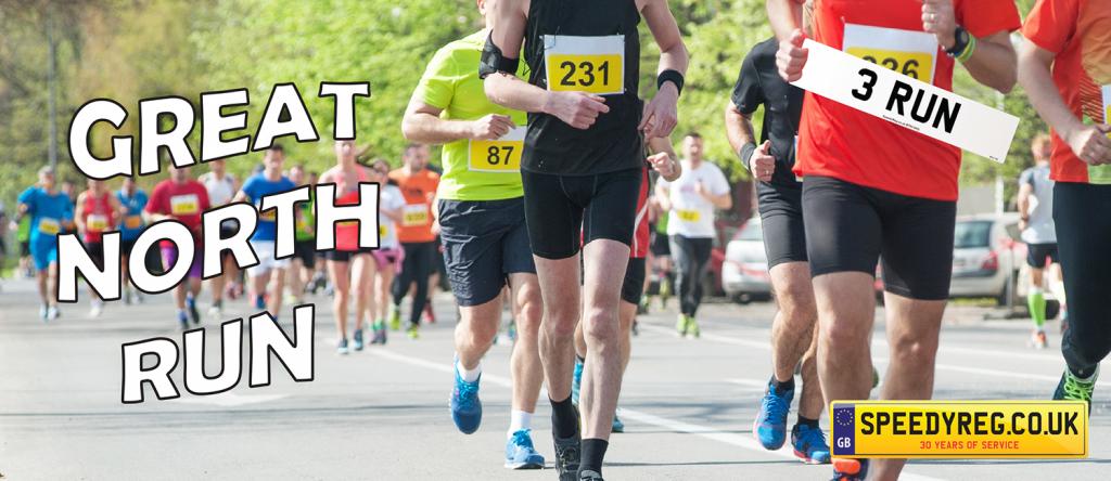 Great North Run - Speedy Reg
