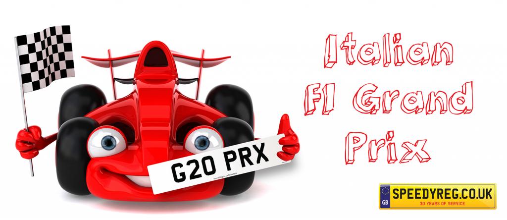 Italian F1 Grand Prix 2019 - Speedy Reg