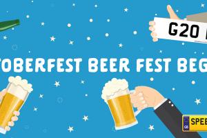 Oktoberfest Beer fest Begins - Speedy Reg