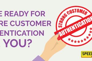Secure Customer Authentication - Speedy Reg