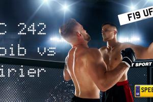 UFC ins Abu Dhabi - Speedy Reg