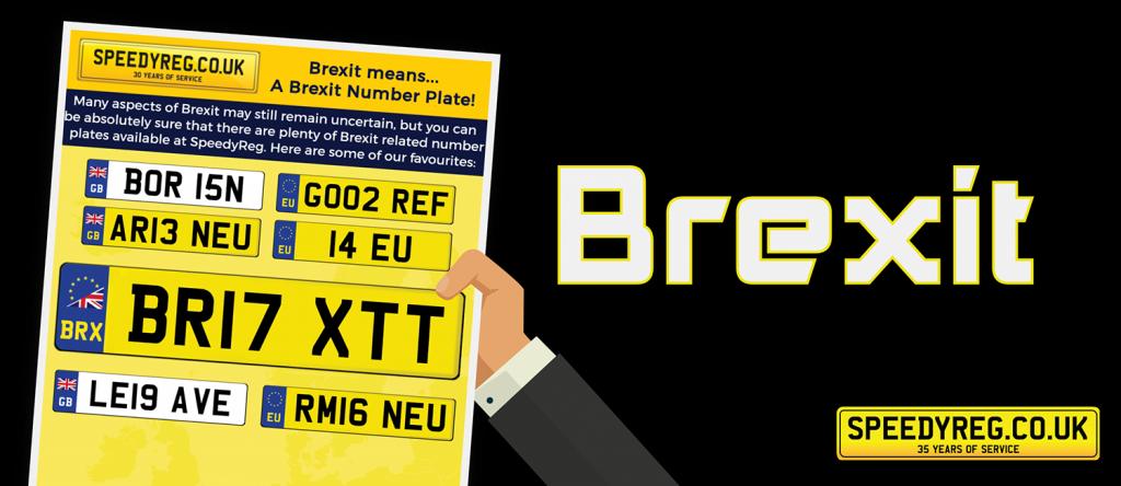 Speedyreg - Brexit Number Plates