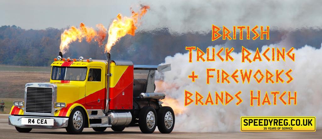 Speedyreg - Truck Racing & Fireworks at Brands Hatch