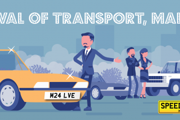 Speedyreg - Malvern Festival of Transport 2019