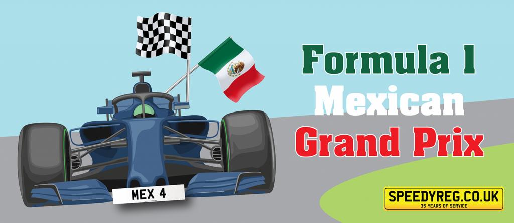 Speedy Reg - Formula 1 Mexico Grand Prix