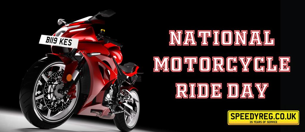 Speedyreg - National Motorcycle Ride Day 2019