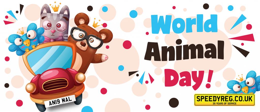 Speedyreg - World Animal Day 2019