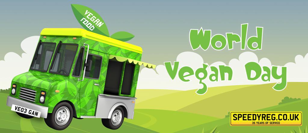 Speedyreg - World Vegan Day 2019