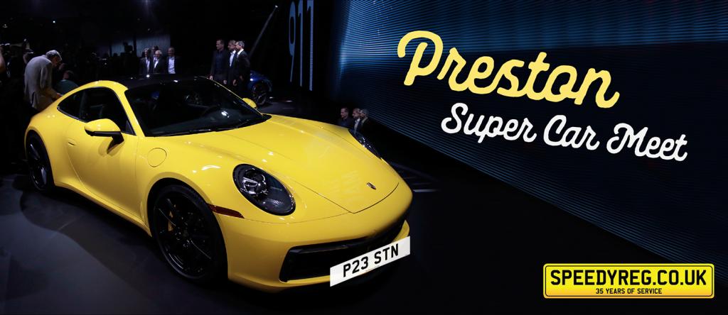 Speedyreg - Preston Super Car Meet