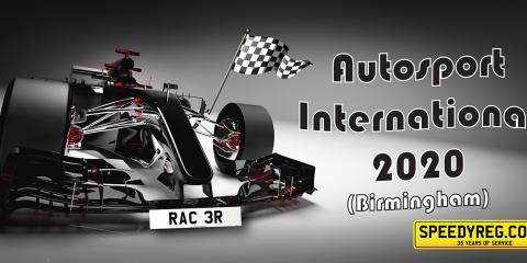 Speedyreg - Autosport International 2020, 30th Anniversary