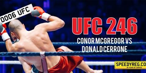 Speedyreg - UFC 246 Mc Gregor and Cerrone
