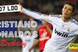 Speedyreg - Happy Birthday Cristiano