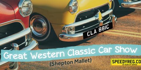 Speedy Reg - Classic Car Show