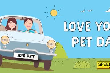 Speedyreg - Love Your Pets Day 2020