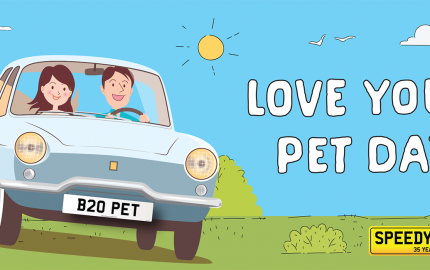 Speedyreg - Love Your Pets Day 2020