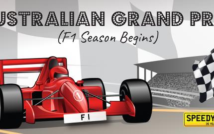 Speedy Reg - Australian Grand Prix